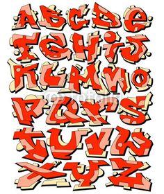 3D Graffiti Letters A Z