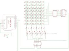 Picture of Matrix, Projects To Try, Dots, Display, Led, Circuits, School Stuff, Blue Prints