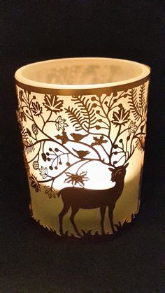 Woodland Tealight Holder - Stag - Presentorium - Your Secret Weapon for Gifting