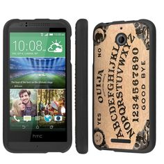 NakedShield HTC Desire 510 (Quija Board) Total Hard Armor LifeStyle Phone Case