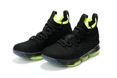 new concept 34560 b531e Cheapest And Latest New Arrival March Nike Cheap LeBron 15 XV Black  Fluorescent Green