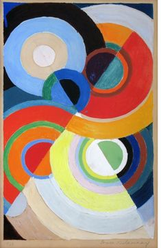 This past weekend I finally attended an exhibition I've been waiting to see for over a month now, Sonia Delaunay's Color Moves, at the Cooper-Hewitt, National Design Museum. Sonia Delaunay is… Geometric Art, Art Painting, Black And White Painting, Painting, Art, Abstract, Book Art, Sonia Delaunay, Inspirational Artwork