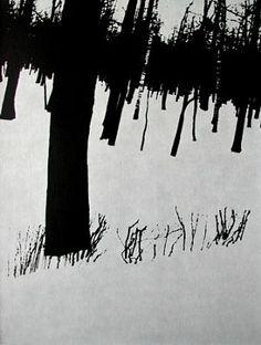 Edward Dimsdale: Birchwood, Winter 1993