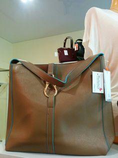 David Jones brown bag