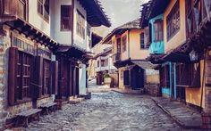 Scarica sfondi old quarter, gabrovo, complesso museale, bulgaria