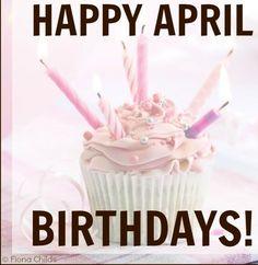 Happy April Birthdays