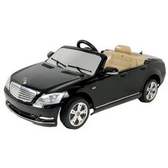 Dexton 6V Mercedes-Benz S-Klasse W221 2009 Car - now he can match mommy :) lol