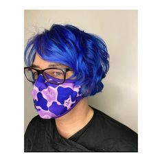 sapphire blue hair, ultra violet, purple hair, manic panic Lvl Lashes, Keratin Complex, Hair And Beauty Salon, Purple Hair, Best Brand, Ultra Violet, Loreal, Blue Sapphire, Cool Hairstyles