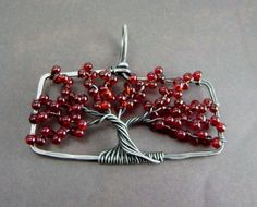 Sterling Japanese Maple Tree Pendant - Made to Order