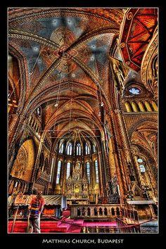 Budapest Hungary Churches | Matthias Church Budapest