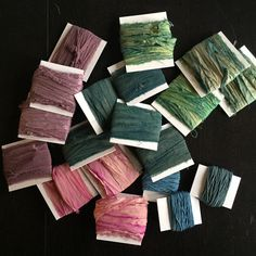 So many pretty new ribbons in the shop!!