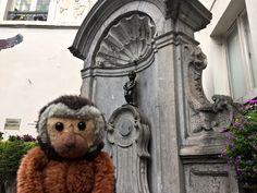 Apen matkat: Bryssel osa 4, Manneken Pis, Jeanneke Pis ja Manneken Peace
