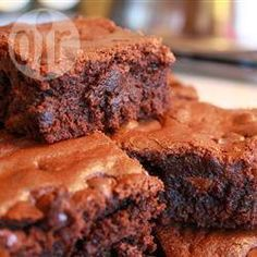 Brownies incomparables