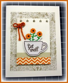 Another Chance to Stamp: THANKS A LATTE FROM PAPER PUMPKIN'
