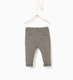 ZARA - KIDS - Houndstooth trousers