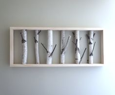 white birch forest  organic white birch wood by urbanplusforest, this would be such a cool coat rack.