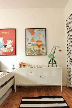 plakaty w pokoju dla dzieci