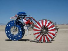 ",Burning Man is a ""festival of self-expression"" held in the Black Rock Desert in Nevada every year Burning Man Pictures, Burning Man Images, Burning Man Art, Nevada, Black Rock Desert, Vintage Cycles, Effigy, Cool Bicycles, Art Festival"
