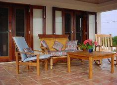 terracatta tile patio
