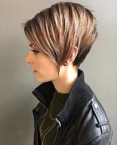 25 nuovi tagli di capelli corti super eleganti per il tuo nuovo look! -  Fasingur f91c1f5e0e25