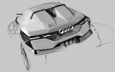 Audi CUV by Hj Lee #cardesign #carsketch #car #design #sketch #audi #conceptcar #crossover by cardesignworld