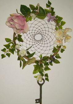Secret Garden Dream Catcher by GypsyCatt