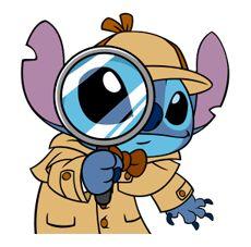 Stitch Returns por The Walt Disney Company (Japón) Ltd. Disney Stitch, Lilo Stitch, Stitch Cartoon, Disney Drawings, Cute Drawings, Animal Drawings, Cute Disney, Disney Art, Walt Disney
