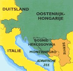Oostenrijk-Hongarije hoorde tijdens WOI bij de Centralen