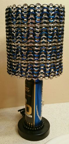 Diy soda pop tab lamp shade stuff i just want to remember can tab lamp ecochiqueaol mozeypictures Image collections