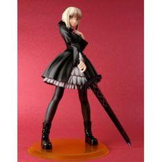 Figurine Fate Stay Night Saber Black Dress Alter