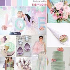 Mint, lavender, pale pink and powder blue wedding colour scheme Wedding Themes, Our Wedding, Wedding Venues, Wedding Ideas, Wedding Stuff, Wedding Mandap, Perfect Wedding, Wedding Cake, Lace Wedding