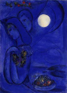 Saint Jean Cap-Ferrat by Marc Chagall, 1949