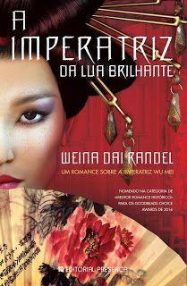 O tempo entre os meus livros: Passatempo Presença: A Imperatriz da Lua Brilhante...