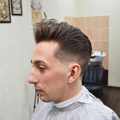 Barber: @checuts #BARBERHEADS #barbershopconnect #internationalbarbers #thebarberpost #sharpfade #barbercon_russia #wahlshop #topgunbarbershop #mrrightbarbershop #boycut_moscow #firmabarbershop #usachi #chopchop #apachesmoscow #mrkg #toporbarber #alaskalook #парикмахер #москва #стрижка #борода #барбер thanx to top-barbershop.com