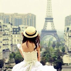 one day.  love the hat with the white dress too <3