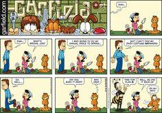 Garfield Comic Strip, March 22, 2015 on GoComics.com