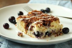Gluten-Free Buttermilk Coffee Cake. Use coconut oil and natural sugars.