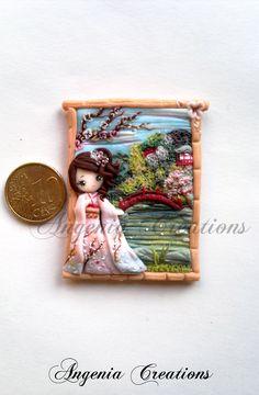 Japanese garden by ~AngeniaC on deviantART