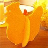 Poule en feutrine Déco Pâques à fabriquer - Loisirs créatifs - com moldes
