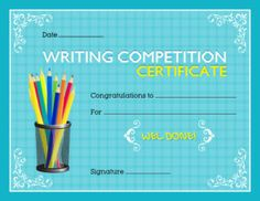 Writing competition award certificate template for ms word download writing competition award certificate template for ms word download at httpcertificatesinn yelopaper Choice Image