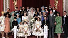 Queen Elizabeth II Princess Diana wedding Photo (C) PA