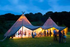 Our tipis come alive at night #tipis #teepees #tipiwedding #teepeewedding #midlands #tipihire #derbyshire #marquee #peaktipis #outdoorwedding