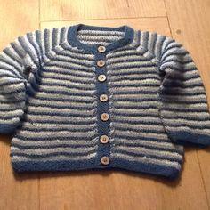 Babytrøje i alpakauld