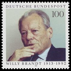 In Memoriam: Willy Brandt  http://d-b-z.de/web/2012/10/08/sonderstempel-in-memoriam-willy-brandt/