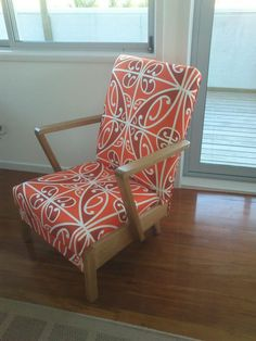 retro chair refurb