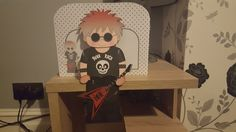 3D On the Shelf Card Kit - Punk Rocker Shayde - Photo by Hayley Griffiths