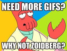 70 animated gifs of Dr. Zoidberg