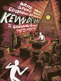 GigPosters.com - Kevin Devine And The Goddamn Band