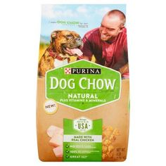 Purina Dog Chow Natural Plus Vitamins & Minerals Dog Food 4 lb. Bag