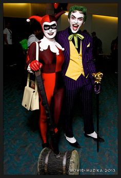 JOKER & HARLEY QUINN, THE JOKER | San Diego Comic-Con 2013